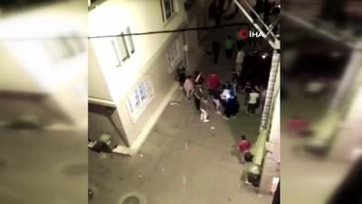 savas -  Bursa'da düğünde kavga çıktı, ortalık savaş alanına döndü