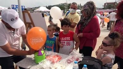 zam -  Çocuklar Dondurma Şenliği'nde doyasıya eğlendi Videosu