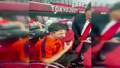 masa tenisi - Cumhurbaşkanı Erdoğan, Abdullah Öztürk'ü tebrik etti