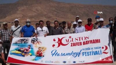 bisiklet turu -  Hasankeyf'te 30 Ağustos Zafer Bayramı coşkuyla kutlandı