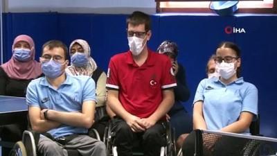 Olimpiyat şampiyonluğu maçını Abdullah Öztürk'ün ailesi heyecanla izledi
