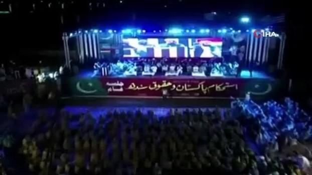 protesto -  - Pakistan'da hükümet karşıtı protesto