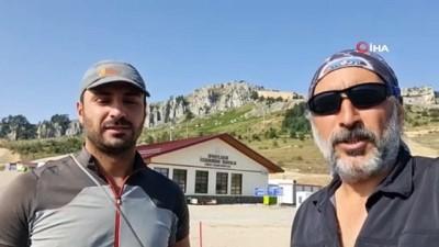 Solo alpinisti 30'uncu tırmanışını Zafer Bayramında gerçekleştirdi