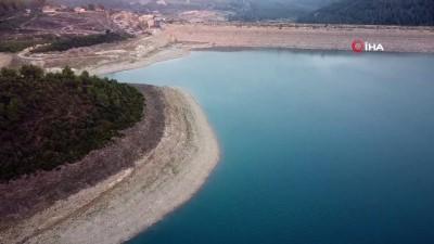 kuraklik -  Suların çekildiği Mehmetli Barajı alarm veriyor Videosu