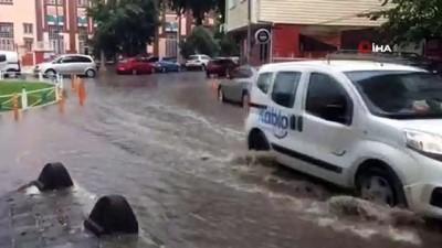 yagmur -  Tekirdağ'da kuvvetli yağış hayatı felç etti