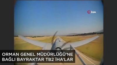 orman yanginlari -  Yeşil Vatan'ın yeni bekçileri İnsansız Hava Araçları