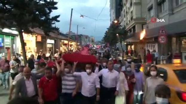 bayram coskusu -  Beyoğlu 30 Ağustos Zafer Bayramını Resul Dindar konseriyle kutladı
