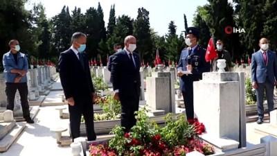 cennet -  KKTC Cumhurbaşkanı Ersin Tatar'dan Kıbrıs Şehidi Cengiz Topel'e ziyaret