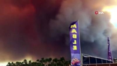 Orman yangınlarıyla boğuşan Manavgat'ın diğer yüzü