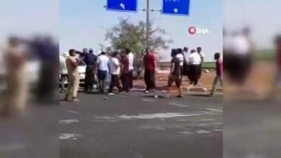 protesto -  Viranşehir'de elektrik kesintilerine karşı protesto