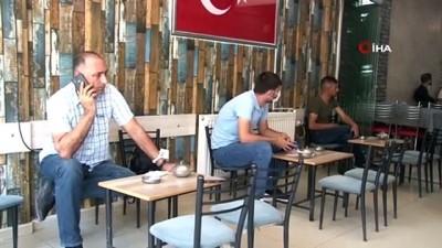 kahvehane -  Elazığ'da iki doz aşı olmayan vatandaş, kahvehane ve kıraathaneye alınmayacak