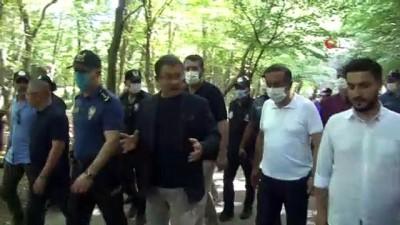atli polis -  Eyüpsultan'da ormanlarda denetimler sürüyor