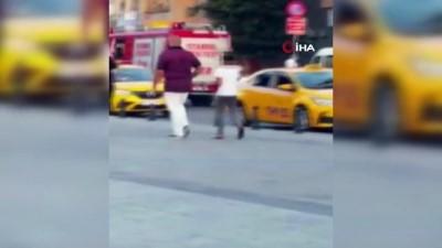 sinir disi -  Taksim'de dilendirilen 26 çocuk kurtarıldı