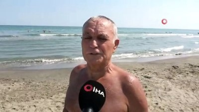 sahil guvenlik -  72'lik delikanlı Karadeniz'i kulaçlıyor