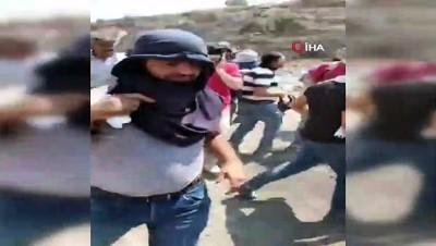 goz yasartici gaz -  - İsrail güçleri ile Filistinliler arasında çatışma: 1 ölü, 37 yaralı