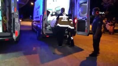 polis memuru -  Kavgaya müdahale eden polisin ayağını otomobil ezdi