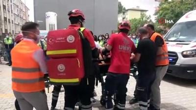 iletisim -  Elazığ'da gerçeği aratmayan yangın ve deprem tatbikatı Videosu