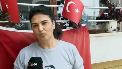 Songül Sürmeneli, olimpiyat şampiyonu kızı ile gurur duyuyor