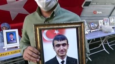 oturma eylemi -  Evlat nöbetindeki babadan, PKK'ya 'orman yangınları' tepkisi