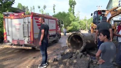 asiri yagis -  Van Büyükşehir Belediyesi sellerde vatandaşı yalnız bırakmadı